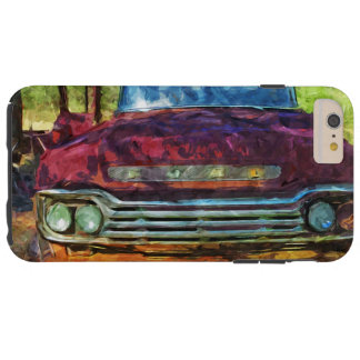 Viejo extracto oxidado del camión del vintage funda de iPhone 6 plus tough