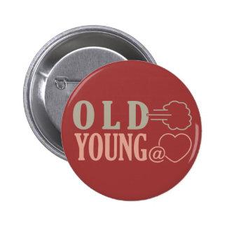 Viejo Fart el botón de encargo Pins