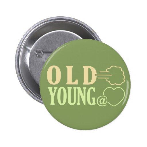 Viejo Fart el botón de encargo Pin Redondo De 2 Pulgadas