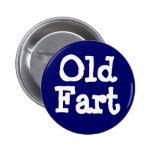 Viejo Fart el botón Pins