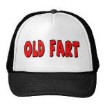 Viejo Fart los 50.os regalos de cumpleaños Gorras De Camionero
