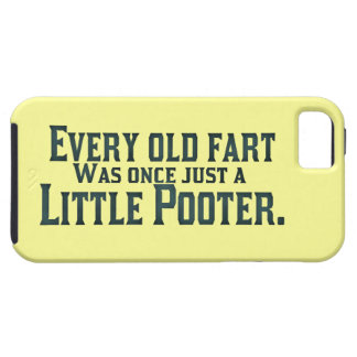 Viejo Fart - poco Pooter Funda Para iPhone 5 Tough