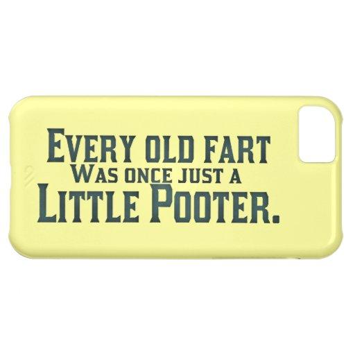 Viejo Fart - poco Pooter Funda Para iPhone 5C