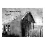 Viejo fiesta del estreno de una casa de la cabaña
