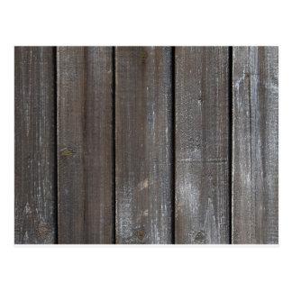 Viejo fondo de madera de la pared tarjetas postales