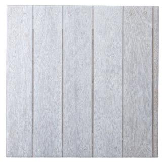 Viejo fondo de madera resistido blanqueado de azulejo cuadrado grande