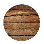 Viejo fondo de madera tabla dardos
