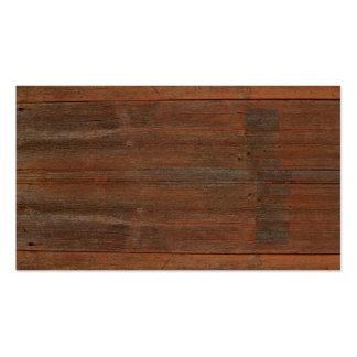 Viejo fondo de madera tarjetas de visita