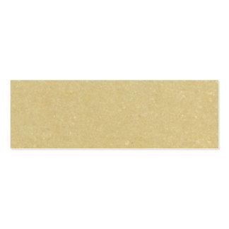Viejo fondo de papel de la textura tarjetas de visita mini
