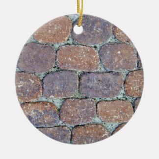 Viejo fondo de piedra resistido del pavimento adorno