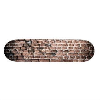 Viejo fondo del grunge de la pared de ladrillo patín personalizado