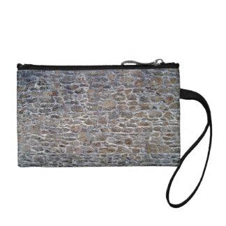 Viejo fondo gastado de la pared de piedra