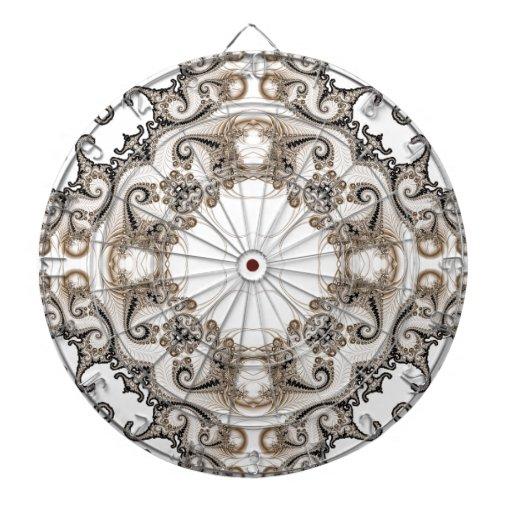 Viejo fractal 10 del cordón tablero de dardos