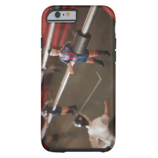 Viejo futbolista de la tabla funda de iPhone 6 tough