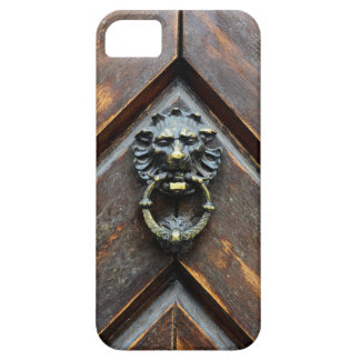 viejo golpe de madera de la manija del metal de la iPhone 5 carcasa