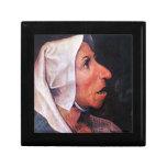 Viejo granjero de Pieter Bruegel Caja De Joyas