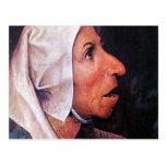 Viejo granjero de Pieter Bruegel Postales