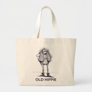 VIEJO HIPPIE BOLSA TELA GRANDE