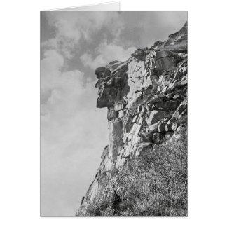 Viejo hombre de la montaña, 1901 tarjeta de felicitación