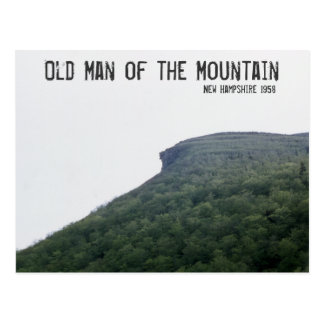 Viejo hombre de la montaña New Hampshire Postal