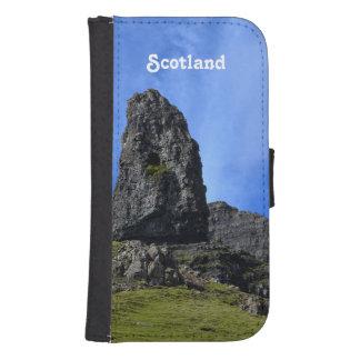 Viejo hombre de Storr en la isla de Skye Fundas Billetera Para Teléfono