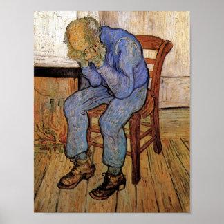 Viejo hombre de Van Gogh en el dolor (F702) Posters