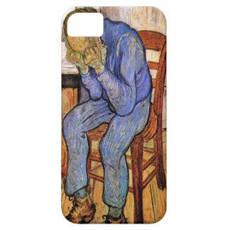 Viejo hombre en dolor de Vincent van Gogh 1890 iPhone 5 Cárcasas