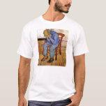 Viejo hombre en dolor de Vincent van Gogh 1890 Playera