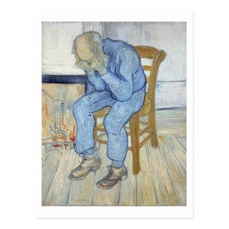 Viejo hombre en el dolor (en el umbral de eternida postal