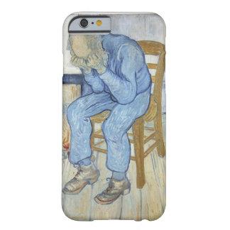 Viejo hombre en el dolor (en el umbral de funda de iPhone 6 barely there