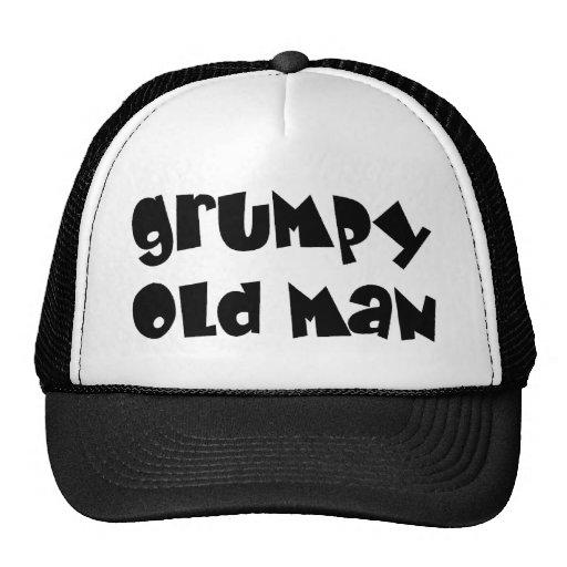 Viejo hombre gruñón gorra