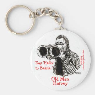 Viejo hombre Harvey - llavero de Deadwood de Ana C