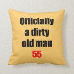Viejo hombre sucio 55 almohadas