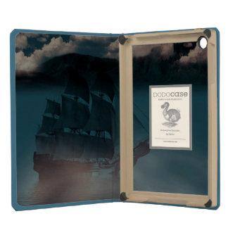 Viejo iPad de hundimiento azul mini DODOcase del