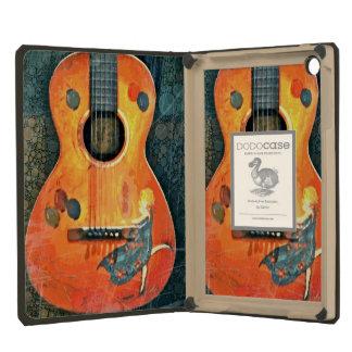 Viejo iPad Dodocase de la guitarra acústica