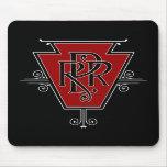 Viejo logotipo Mousepad del ferrocarril de Pennsyl