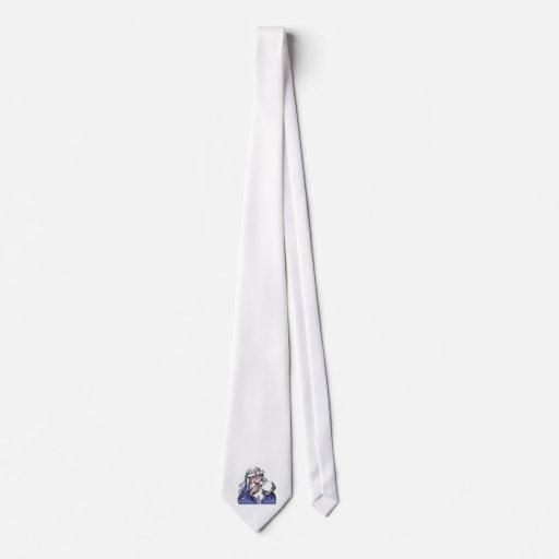viejo mago blanco MERLIN Corbatas Personalizadas