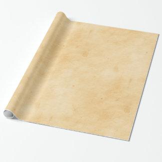 Viejo mirada abigarrada manchada del pergamino papel de regalo