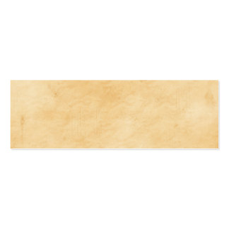 Viejo mirada abigarrada manchada del pergamino tarjetas de visita mini