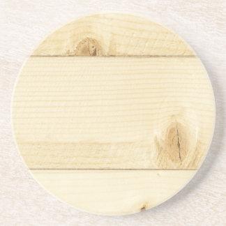 Viejo modelo blanco de madera de roble posavasos diseño