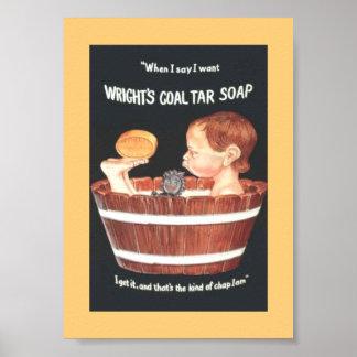 Viejo muchacho 1920 del anuncio del jabón del alqu impresiones