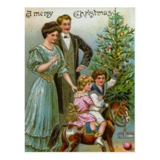 Viejo navidad de la moda postales