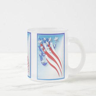 Viejo nug arrebatador de la gloria taza de café