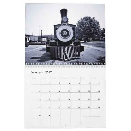 Viejo número 4 calendarios