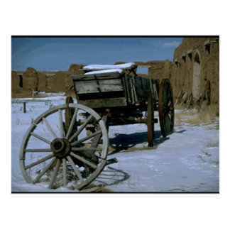 Viejo oeste Nevado Postal