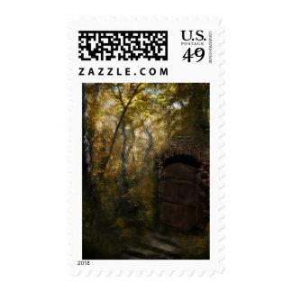 Viejo otoño de la cripta sellos