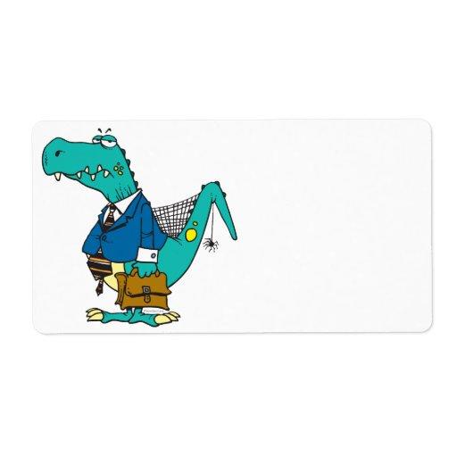 viejo personaje de dibujos animados divertido del  etiquetas de envío