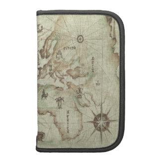 Viejo planificador de Mapamundi - folio