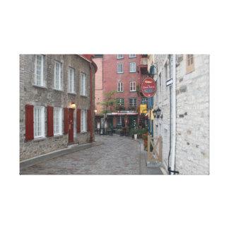 Viejo Quebec - color Lona Estirada Galerías