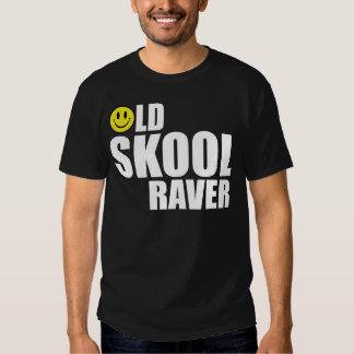 Viejo Raver 2 de Skool Playeras